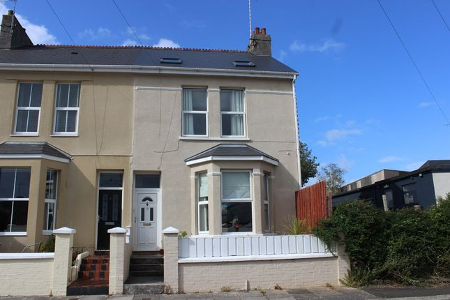 Thumbnail End terrace house for sale in Ingra Road, Plymouth