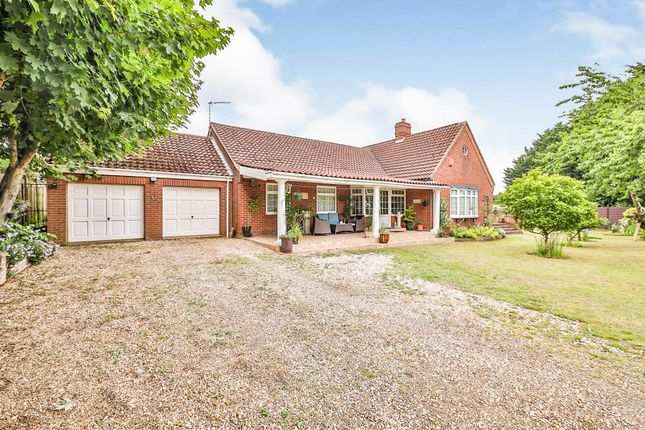Thumbnail Bungalow for sale in St. Andrews Lane, Necton, Swaffham
