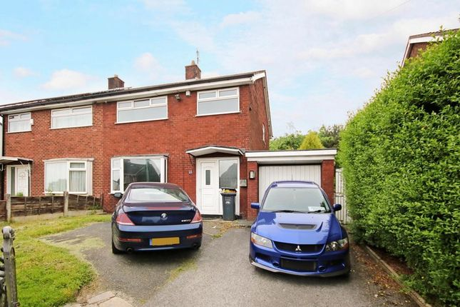 Thumbnail Semi-detached house for sale in Newcombe Drive, Little Hulton, Manchester