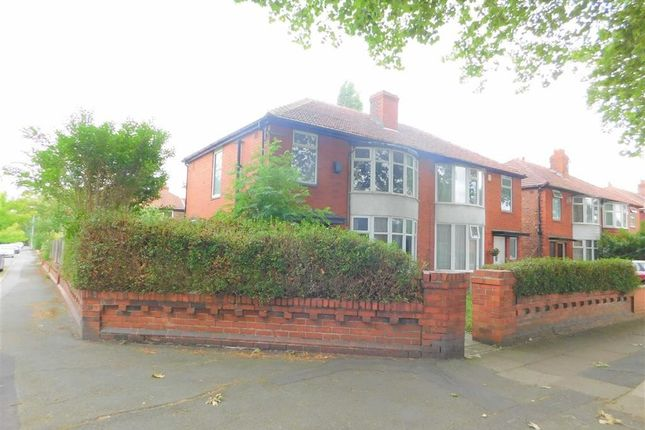 Thumbnail Semi-detached house for sale in Parsonage Road, Withington, Manchester