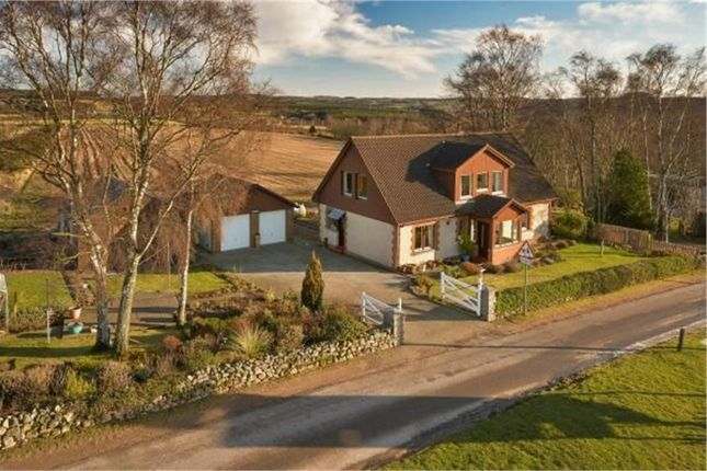 Thumbnail Detached house for sale in Drumoak, Drumoak, Banchory, Aberdeenshire