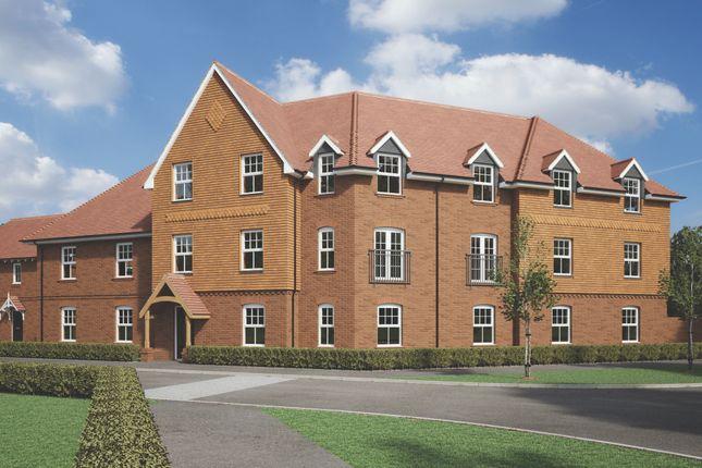 CGI Exterior of Gallery Road, Basingstoke RG24