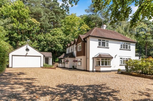 Thumbnail Detached house for sale in Deepcut, Camberley, Surrey