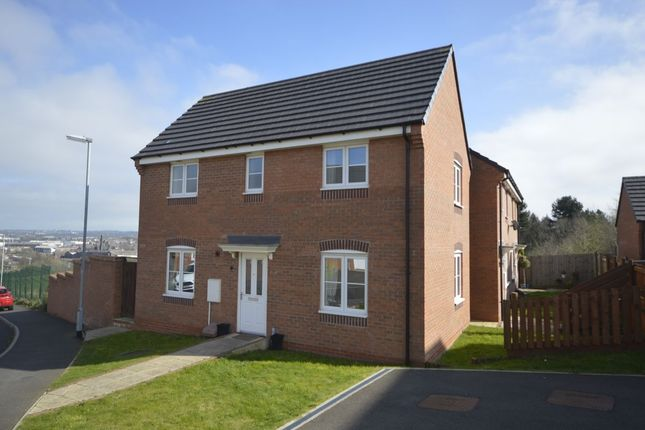 Thumbnail Detached house for sale in Lamphouse Way, Wolstanton, Newcastle