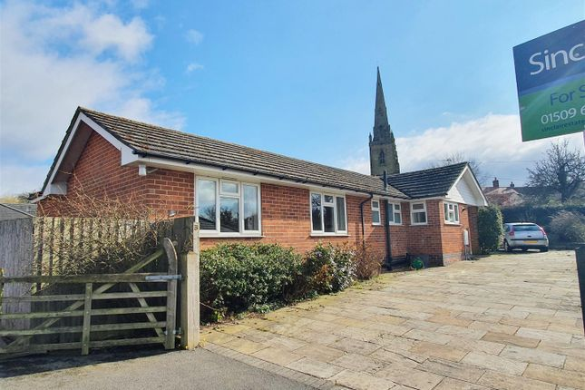 Thumbnail Detached bungalow for sale in The Toft, Mill Lane, Belton, Leicestershire