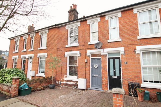 Thumbnail Terraced house to rent in Wickham Road, Colchester