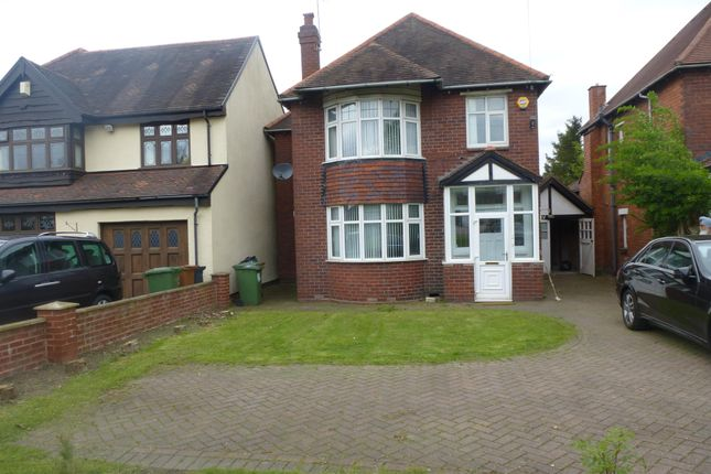 Thumbnail Detached house to rent in Sutton Road, Walsall