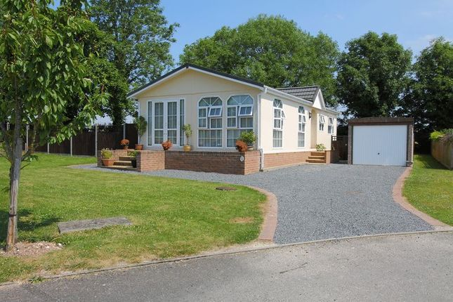 Thumbnail Bungalow for sale in Valley Field Park, London Road, Nr Stockbridge