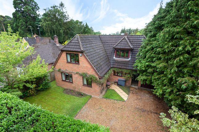 Thumbnail Detached house for sale in Woodlands Avenue, Winnersh, Berkshire
