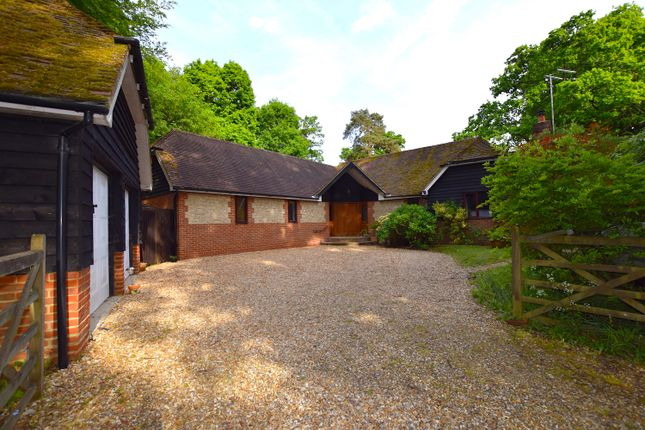 Thumbnail Detached bungalow for sale in Liphook Road, Headley, Bordon