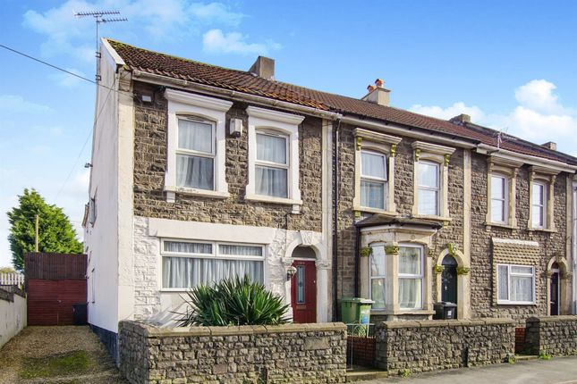 Thumbnail End terrace house for sale in Hanham Road, Hanham, Bristol