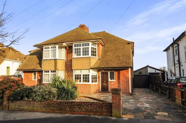 Thumbnail Semi-detached house for sale in Annesley Drive, Shirley, Croydon