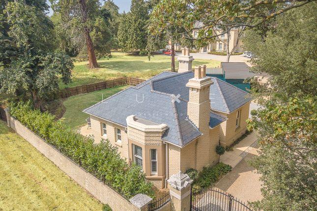 Thumbnail Detached bungalow for sale in Park Road, Colchester, Essex