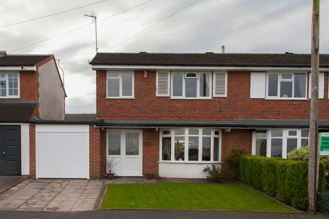 Thumbnail Semi-detached house for sale in Chessington Crescent, Trentham, Stoke-On-Trent