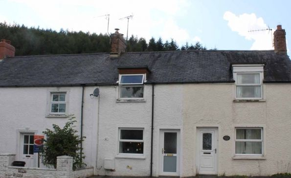 Thumbnail Terraced house to rent in Min Fordd, Talybont