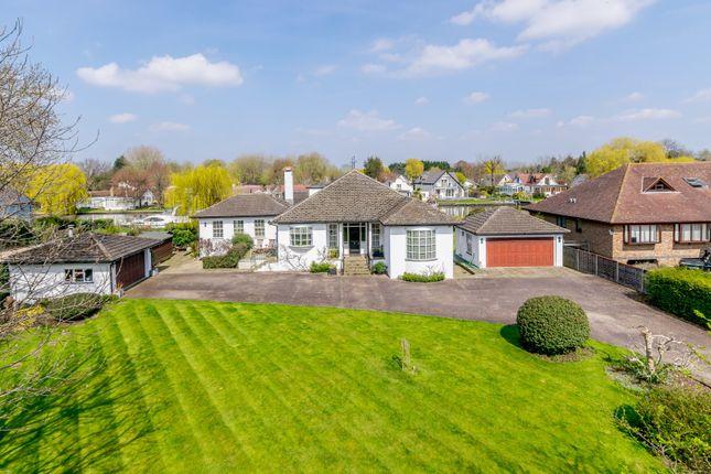 Thumbnail Detached bungalow for sale in Hamm Court, Weybridge