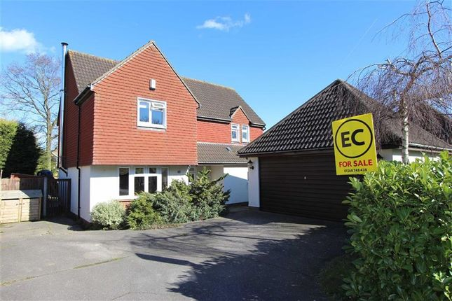 Thumbnail Detached house for sale in Rectory Avenue, Ashingdon, Essex