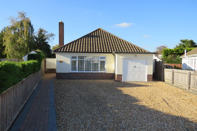 Thumbnail Detached bungalow for sale in Wilton Close, Christchurch