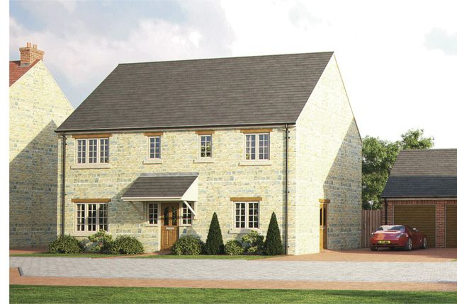 Thumbnail Detached house for sale in Old Brickyard Close, Lavendon, Olney