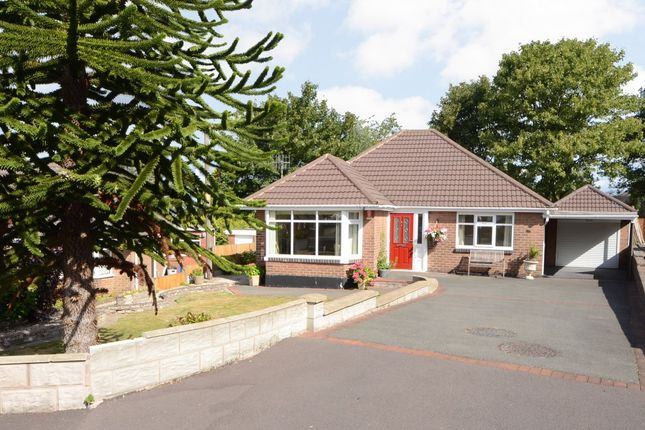 Thumbnail Detached bungalow for sale in Harlech Avenue, Lightwood