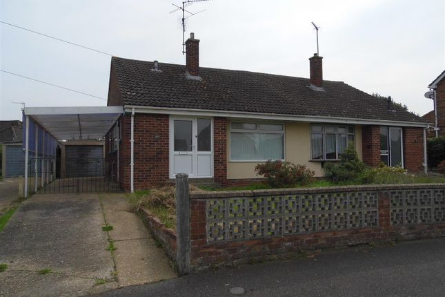 Thumbnail Semi-detached bungalow for sale in Peppers Green, King's Lynn