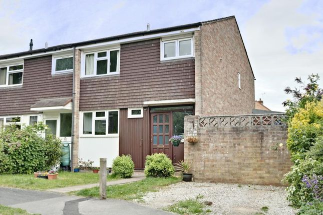 Thumbnail End terrace house for sale in Lakeside Gardens, Farnborough