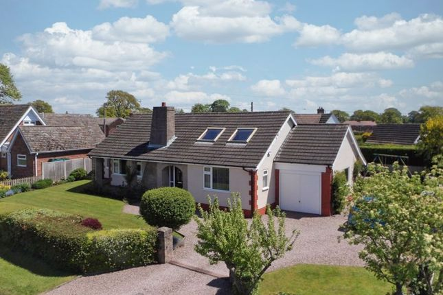 Thumbnail Detached bungalow for sale in Nantwich Road, Wrenbury, Cheshire