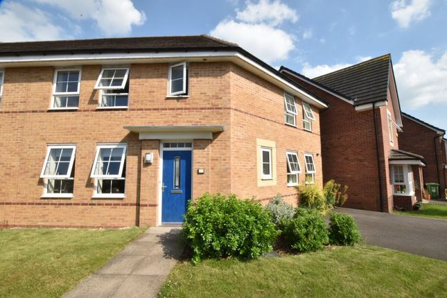 Thumbnail Semi-detached house for sale in Rounds Road, Worcester