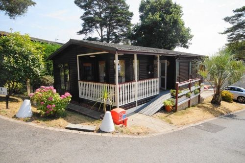 Thumbnail Mobile/park home for sale in Tall Trees Park, Matchams, Christchuch, Dorset