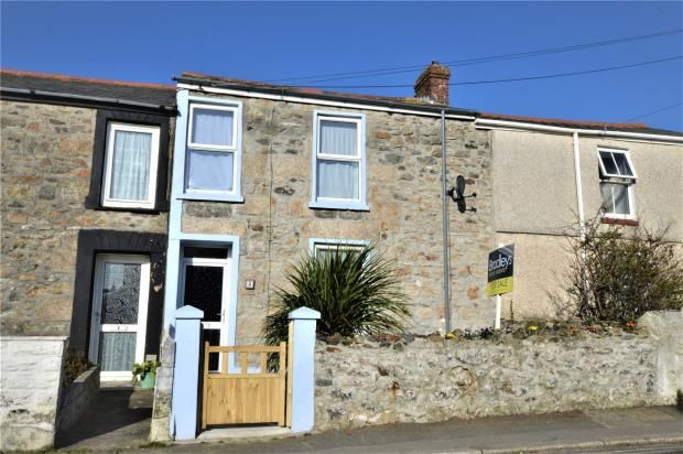 Thumbnail Terraced house for sale in Stray Park Road, Camborne, Cornwall