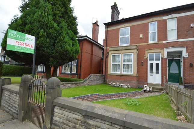 Thumbnail Semi-detached house for sale in Bury New Road, Whitefield, Manchester
