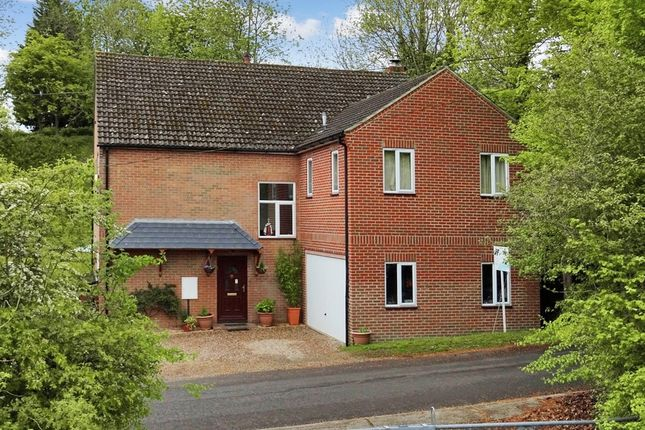 Thumbnail Detached house for sale in Stoke, Andover