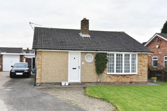 Thumbnail Detached bungalow to rent in Harcourt Close, Bishopthorpe, York
