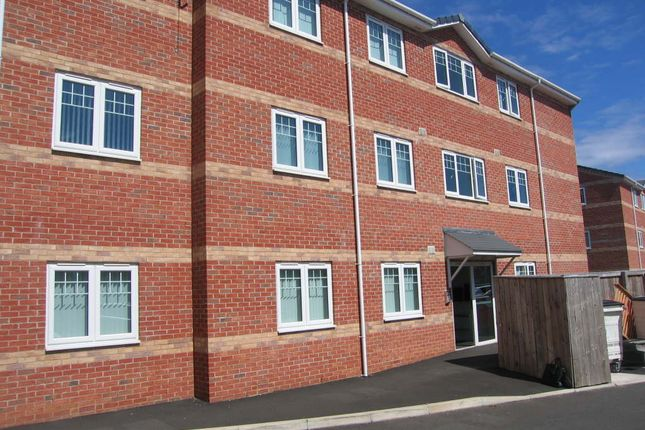 Thumbnail Flat to rent in Abbey Court, Shiremoor, Newcastle Upon Tyne