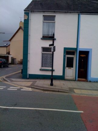 Thumbnail End terrace house to rent in St John Street, Whitland