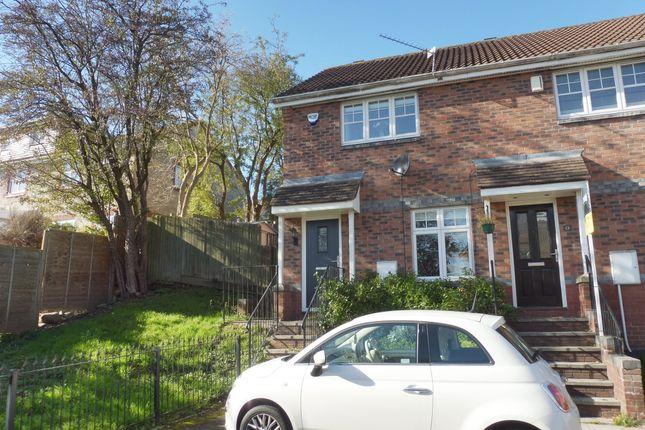 Thumbnail End terrace house for sale in Dungarvan Drive, Pontprennau, Cardiff