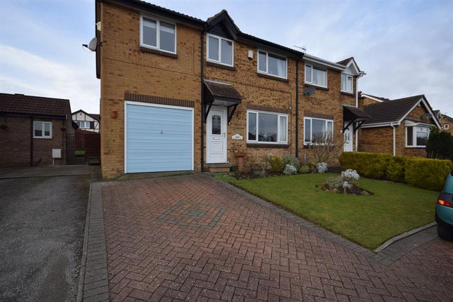 Thumbnail Semi-detached house to rent in Pinfold Close, Bridlington