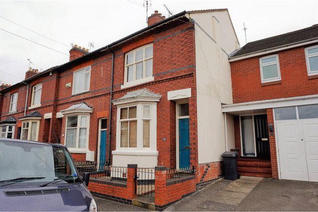 Thumbnail End terrace house for sale in Dulverton Road, Westcotes