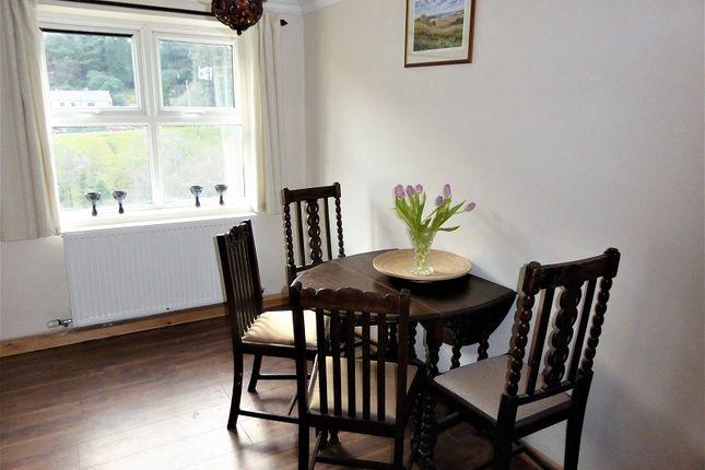 Dining Room of Bryn Cottages, Pontyrhyl, Bridgend, Bridgend County. CF32