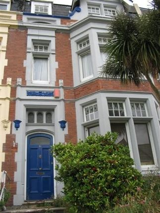 Thumbnail Town house to rent in Lipson Road, Greenbank, Plymouth