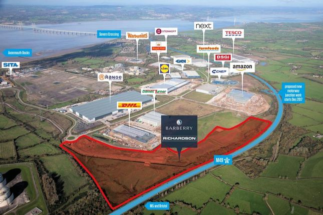 Thumbnail Industrial for sale in More+ Central Park, Avonmouth, Bristol