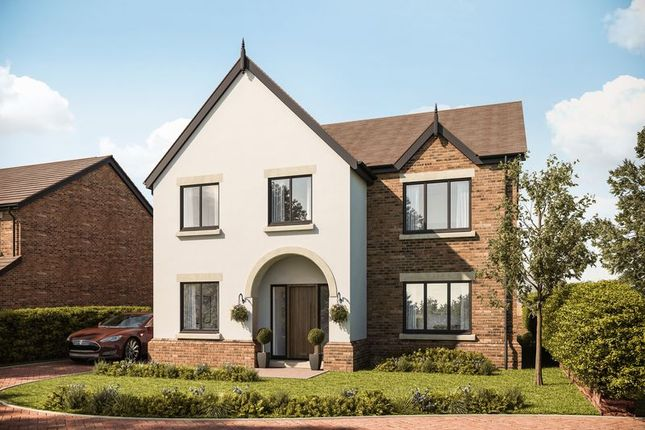 Thumbnail 4 bedroom detached house for sale in Plot 3 Gayton Chase, Gayton Road, Lower Heswall