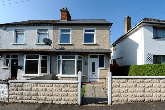 Thumbnail Semi-detached house for sale in Galway Park, Dundonald, Belfast