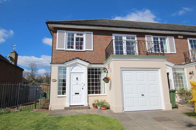 Thumbnail End terrace house for sale in Thamesfield Court, Shepperton