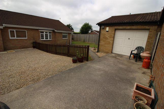 2 bed semi-detached bungalow for sale in Bishopswood, Brackla, Bridgend CF31