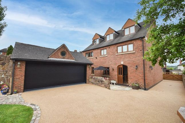 Thumbnail Detached house for sale in Eastwood House, Woodland Avenue, Norton Green, Stoke-On-Trent