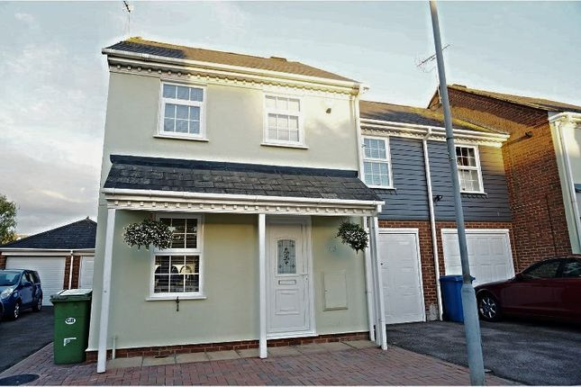 Thumbnail End terrace house for sale in Taillour Close, Kemsley, Sittingbourne