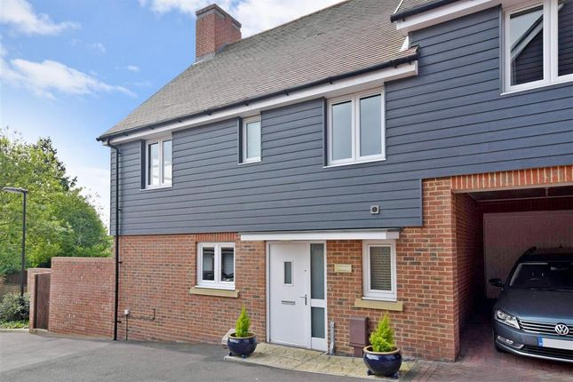 Thumbnail Semi-detached house for sale in Gardener Close, Waterlooville, Hampshire