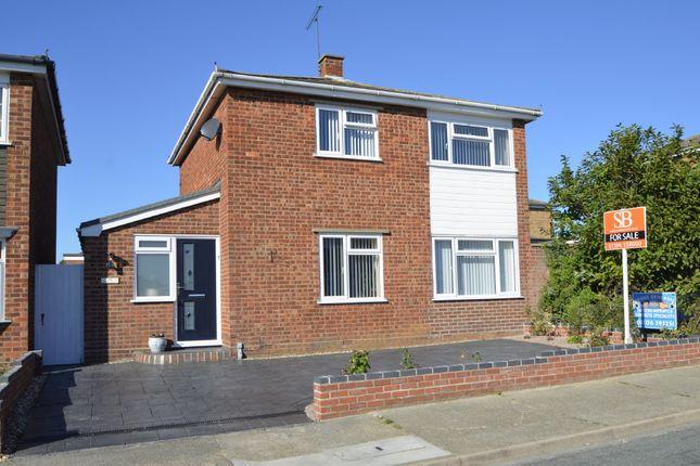 Thumbnail Detached house for sale in Western Avenue, Felixstowe