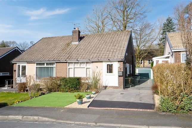 2 bed semi-detached bungalow for sale in Roundwood Avenue, Burnley, Lancashire BB10